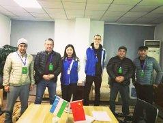 Посещение клиентов из Узбекистана