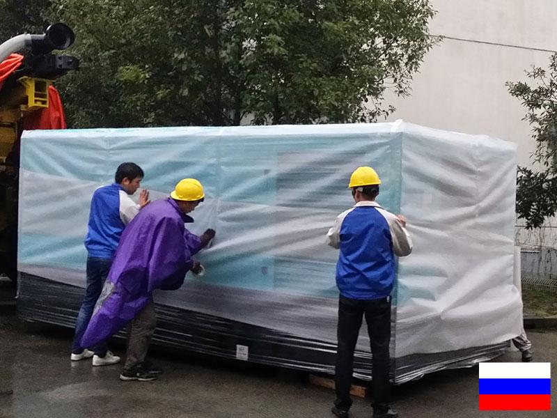 Винтовой компрессор работает для добычи в России
