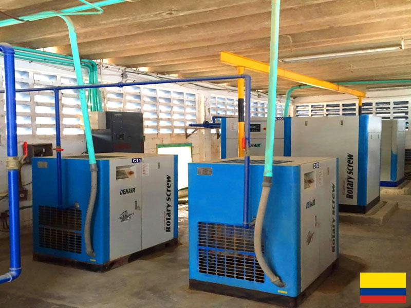 Система воздушного компрессора DENAIR для фармацевтической промышленности