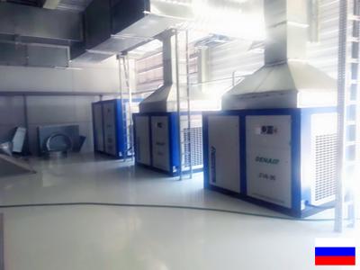 Воздушные компрессоры DENAIR на автомобильной фабрике России