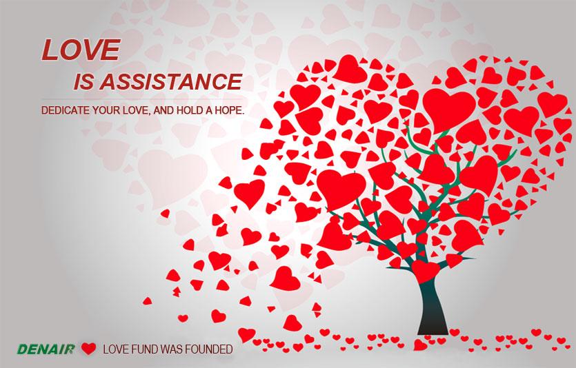 Основание фонда любви DENAIR