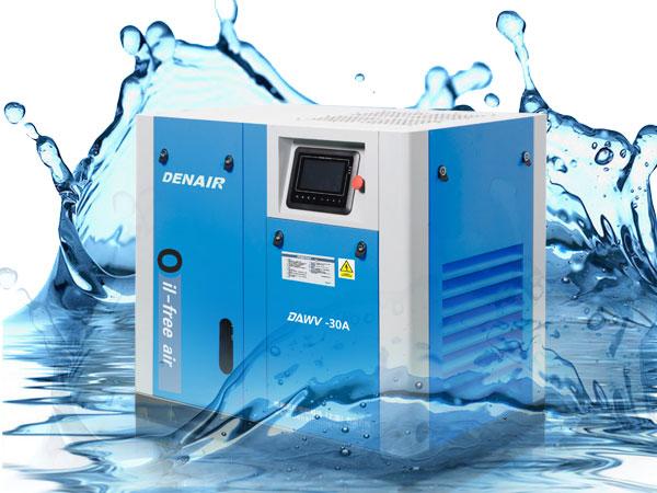 DENAIR безмасляный компрессор с водяной смазкой