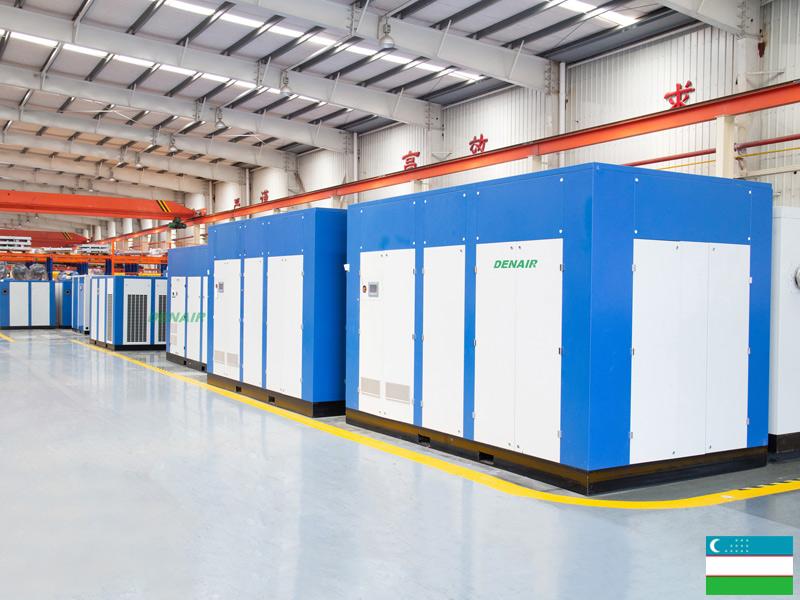 Винтовые компрессоры для горной промышленности на заводе АГМК