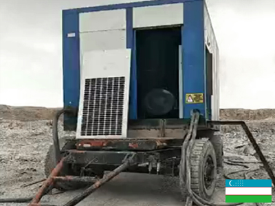 Запук винтового компрессор DENAIR в Узбекистане
