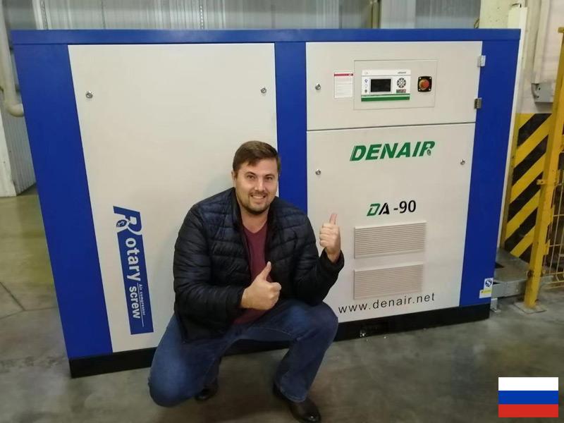Винтовые компрессоры DENAIR на автомобильном заводе АВТОТОР