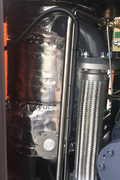 Дизельный компрессор приспособленный к низким температурам